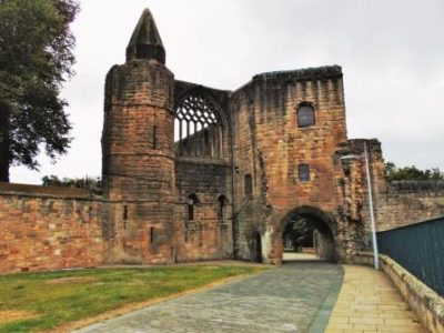 Photo of the Pends Gatehouse where Dunfermline's Linen Industry Started