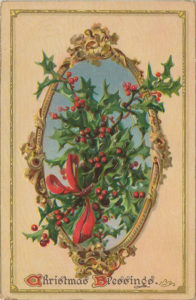Raphael TUCK & Sons 1908 ANTIQUE CHRISTMAS CARD No 100