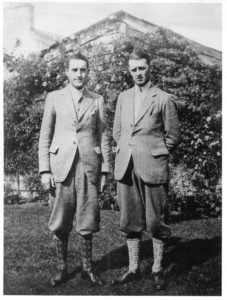 Circa 1930 photo of brothers, Jack and Jim Stewart, grandsons of the firm's founder – See Notes 4 & 6