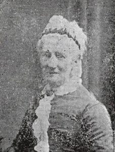 Photograph of Miss Thomson, for many years Headmistress of Queen Anne Street School