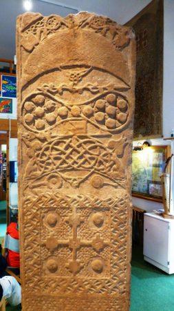 Photo of the Rosemarkie Pictish Stone