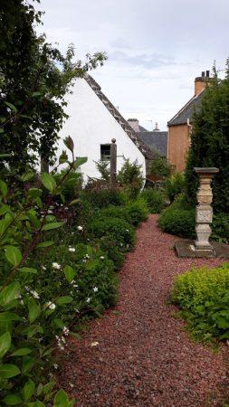 Photo of Hugh Miller's cottage garden