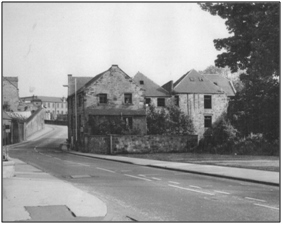 Photo of Harriebrae Mill shortly before demolition in 1964