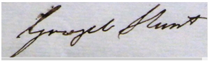 Grizel Hunt's signature