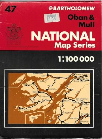 Image of Bartholomews National Mao Series, Oban and Mull, 1977