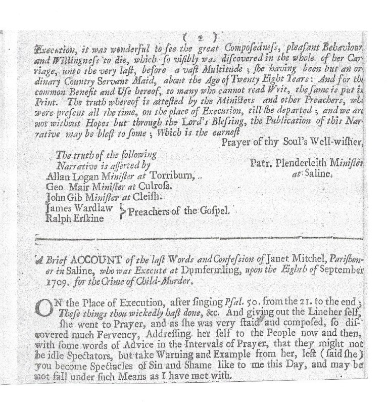 Part of the pamphlet of 1764