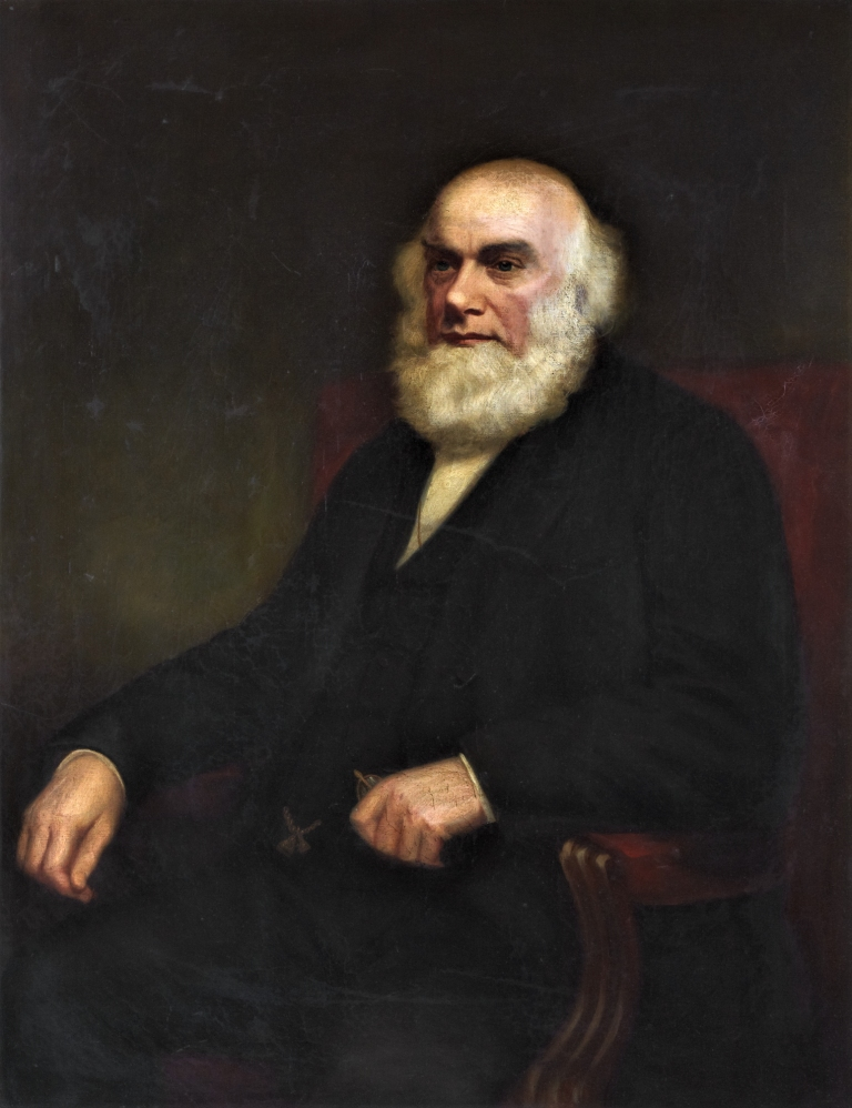 Painting of Provost Robert Robertson by John Rattray, courtesy of Fife Cultural Trust (Dunfermline Carnegie Library and Galleries) on behalf of Fife Council