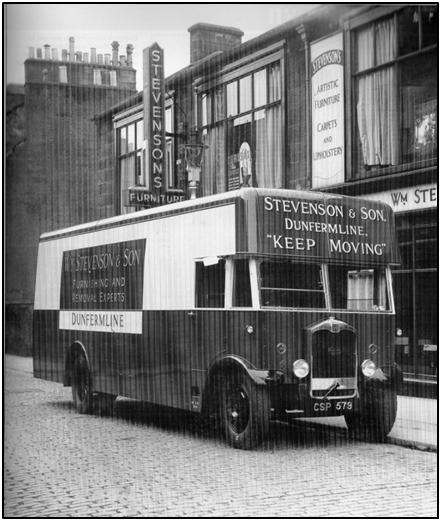 Photo of the Bruce St premises c. 1935