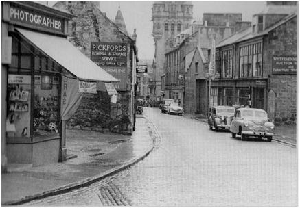 Photo of the Bruce Street premises c.1955.