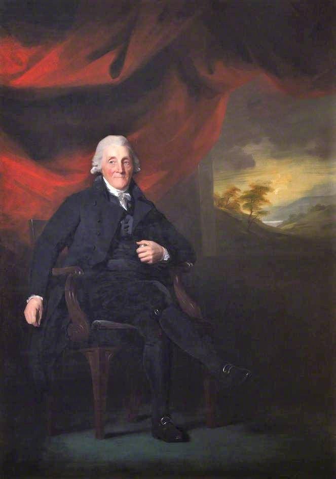 Portrait of Adam Low by Sir Henry Raeburn