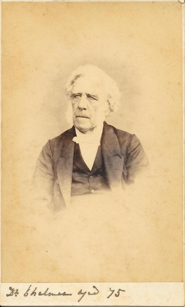 Photo of Peter Chalmers from 1875.