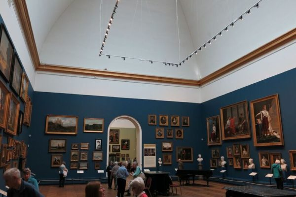 Photo of the gallery in the museum
