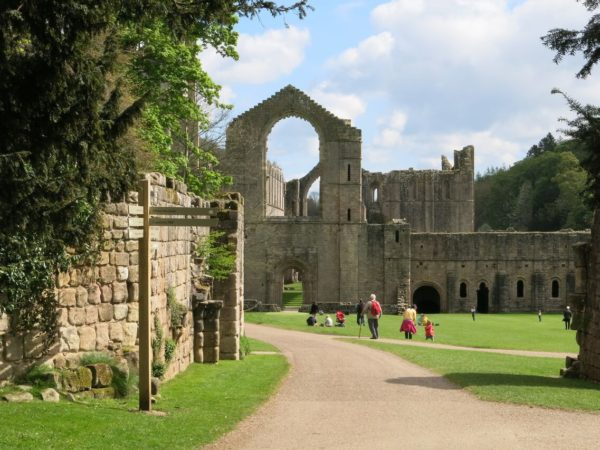 Photo of the Abbey from the Porters Lodge