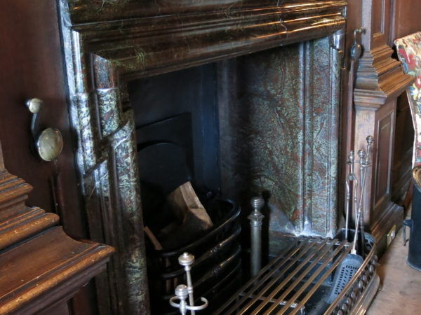 Portsoy Marble Fireplace in Hopetoun House