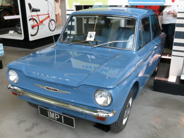 The first Hillman Imp, made at Linwood