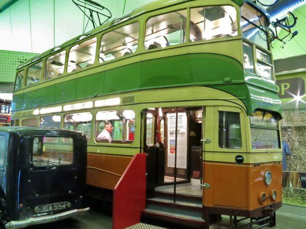 A Glasgow tram
