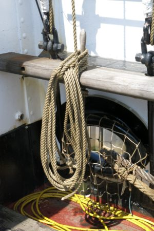 Photo of coil of rope