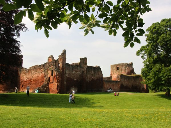 Bothwell Castle from the north