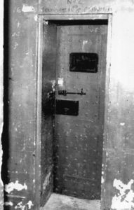 A cell door Photo courtesy of Dunfermline Press