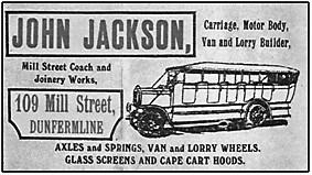 C.1920 Jackson Advert