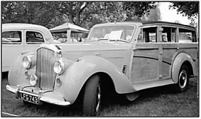 Photo of Alan Stewart's 1952 Bentley Shooting-Brake