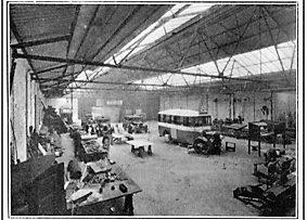 Photo C. 1935 – Jackson's new workshop at Pittencrieff Street