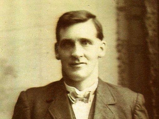 Photo of Peggy's grandfather George Whitelaw, killed in pit accident