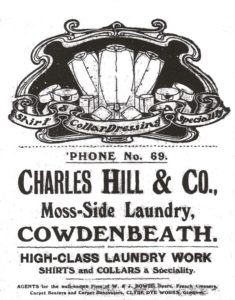 Early Charles Hill & Co Advert