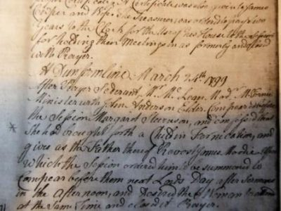 Image of Kirk Session Records March 1799