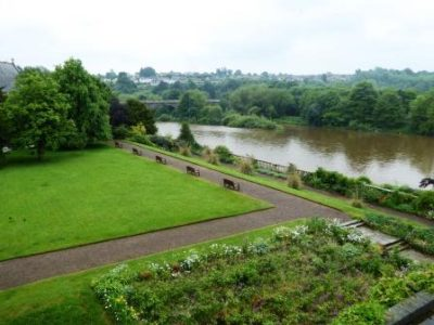 Photo of the River Tweed from Ednam House Hotel