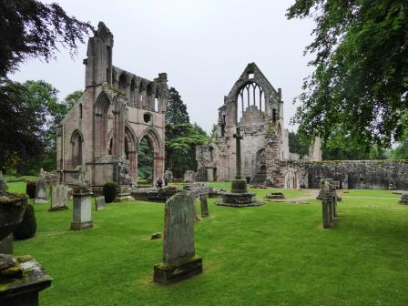 Photo of the ruins of the Choir, Dryburgh Abbey