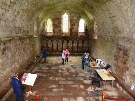 Photo of The Chapter house, Dryburgh Abbey