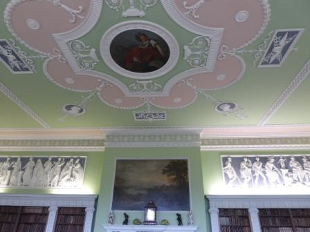 Photo of Mellerstain Library Ceiling