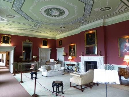 Photo of Mellerstain House interior