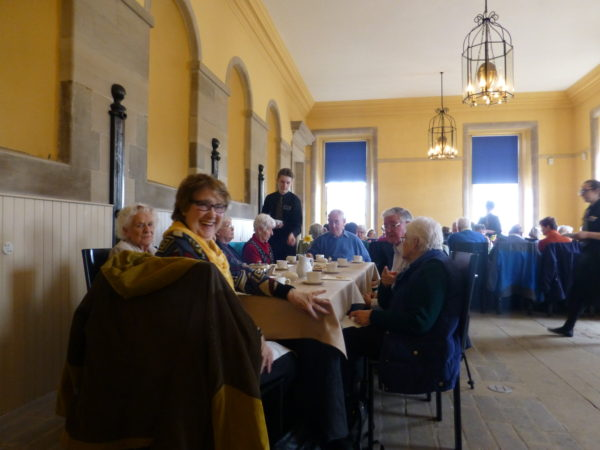 A few more of us enjoying lunch at Hopetoun