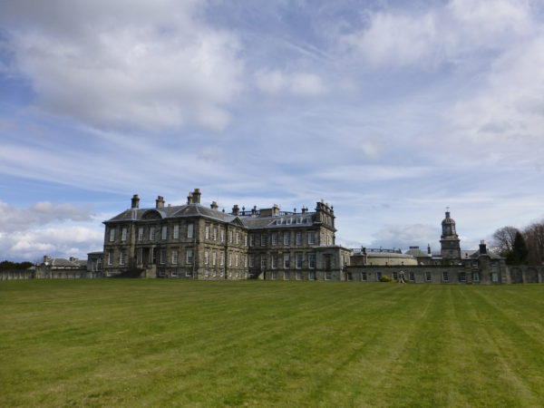 "Hopetoun House from the west - the ""Bruce"" building"