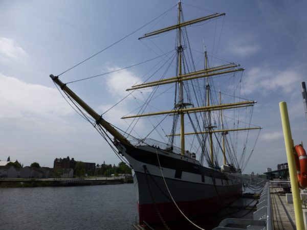 "The Clyde built Sailing Barque ""Glenlee"""