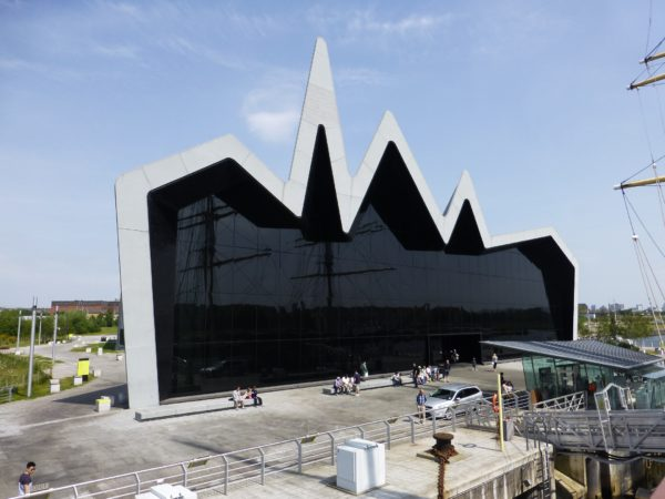 The Riverside Museum, architect, Zahad Hadid