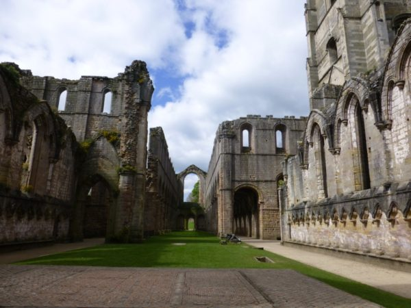 Photo looking west towards the nave