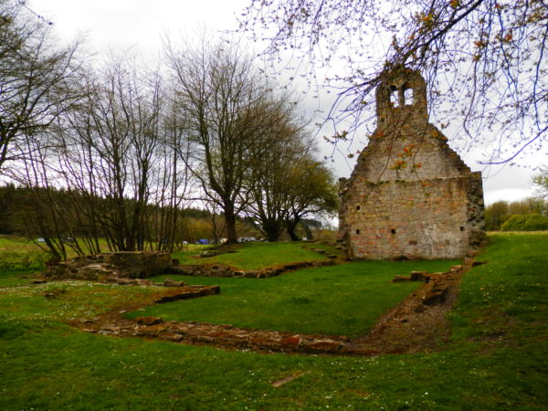The ruins of Kinneil Parish Church