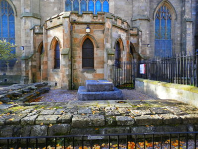 Photo of St. Margarets Shrine, Dunfermline abbey