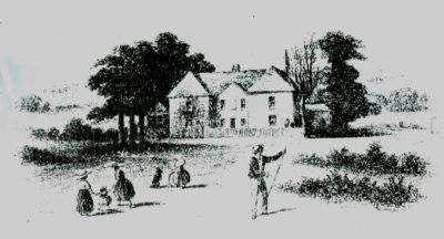 Image of Portmoak Manse, scene of Margaret Halcro's death. Courtesy of David Munro.