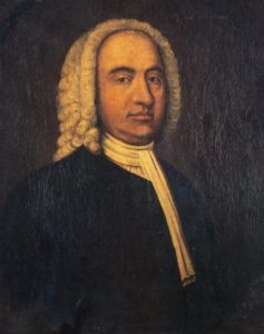 Painting of the Rev Ebenezer Erskine, by an unknown artist.