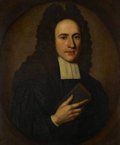 Painting of Rev Ralph Erskine, by Richard Waitt.