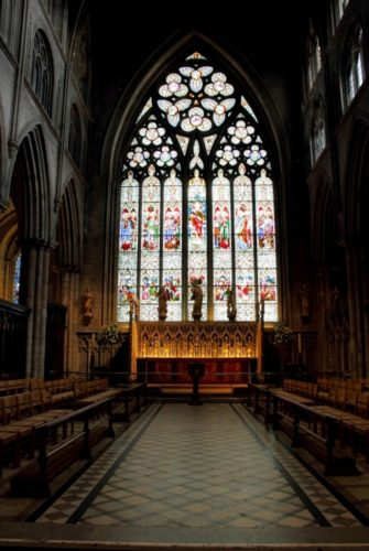 Photo of the High Altar and East Window