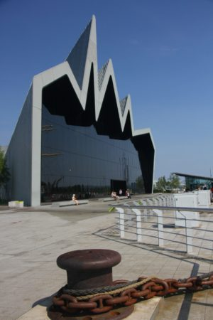 The Riverside Museum from the Quay