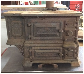 Photo of an Uncle Sam Stove