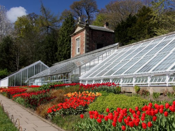 Photo of the Conservatory in the Walled Garden